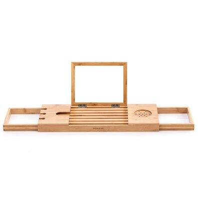 Meledyn bambusz tárolóalátét kádra, 93 x 23 x 4,5 cm