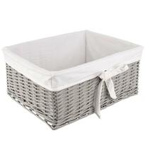 Orion Koš na čisté prádlo, 52 x 41 x 23 cm, šedá
