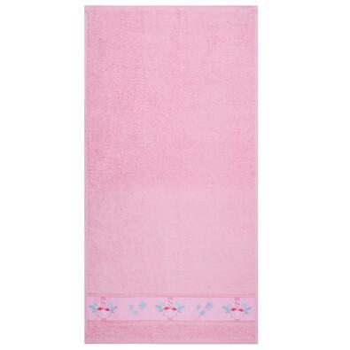 Flamingo fürdőlepedő rózsaszín, 70 x 140 cm