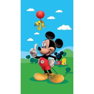 AG ART Dětský zatemňovací závěs Mickey Mouse, 140 x 245 cm