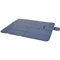 Koc piknikowy Dice niebieski, 130 x 150 cm