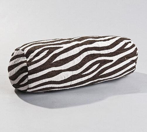 Podhlavník Zebra BO-MA, 20 x 45 cm, biela + čierna, 20 x 45 cm