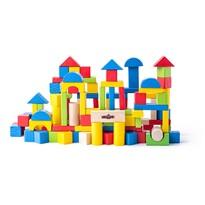 Joc modular Woody Cuburi, 100 buc.