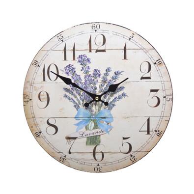 Zegar ścienny Lawenda HLC15523K