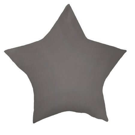 Domarex Polštář Stars šedá, 45 x 45 cm