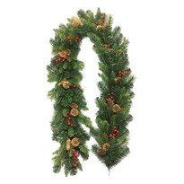Girlanda świąteczna Savona zielony, 200 cm
