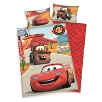 Cars gyerek pamut ágyneműhuzat a kiságyba, 100 x 135 cm, 40 x 60 cm