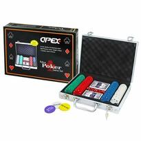 Apex Hra poker deluxe v kufříku, 200 žetonů