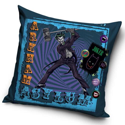 TipTrade Povlak na polštářek Batman Arkham Asylum Joker's Hammer, 45 x 45 cm