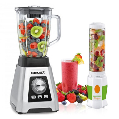 Concept SM3410 Smoothie mixér 1,5 l Perfect Ice Crush + DARČEK SM3350 Smoothie maker Shake And Go