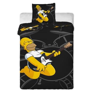 Dětské bavlněné povlečení The Simpsons Homer, 140 x 200 cm, 70 x 90 cm