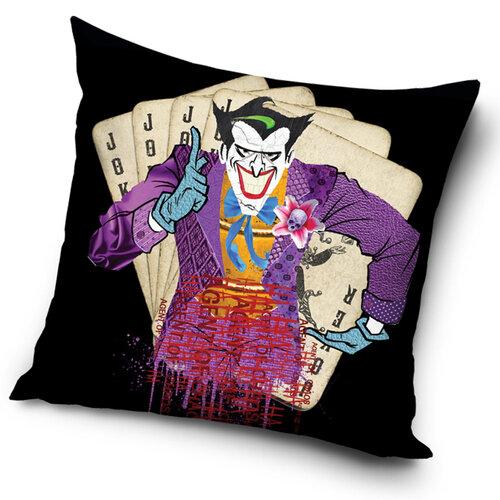 TipTrade Povlak na polštářek Batman Arkham Asylum Joker Agent of Chaos, 45 x 45 cm