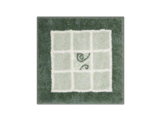 Koupelnová předložka Grund MERIDA zelená, 60 x 60 cm