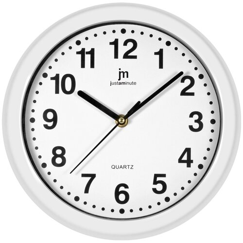 Ceas de perete Lowell 00710B, diam. 25 cm