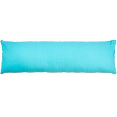 Poszewka na poduszkę relaksacyjna Mąż zastępczy UNI niebieski, 40 x 120 cm
