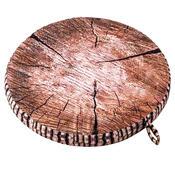 Székpárna fa mintázattal barna, 40 cm