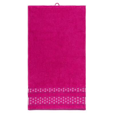Ručník Vanesa růžová, 50 x 90 cm