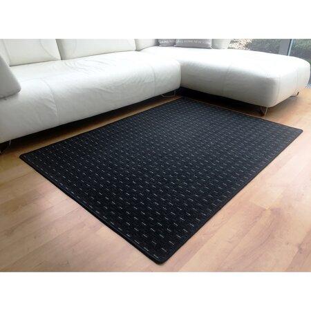 Kusový koberec Valencia antracit, 140 x 200 cm