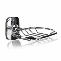 Săpunieră metalică Brilanz Siena, cu suport