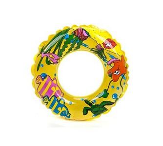 Nafukovací kruh SEA FISH, žlutá