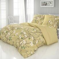 Tavasz szatén ágynemű, arany