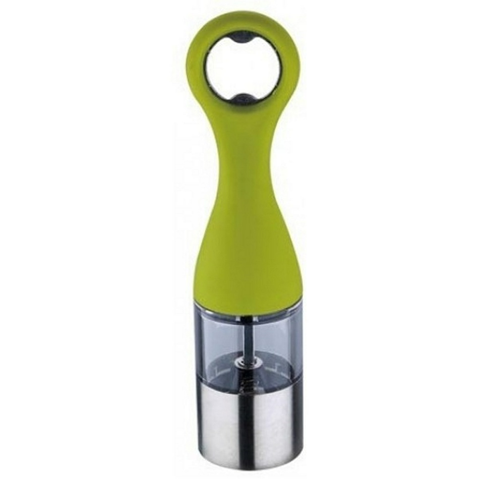 Renberg mlynček na korenie s otváračom fliaš,