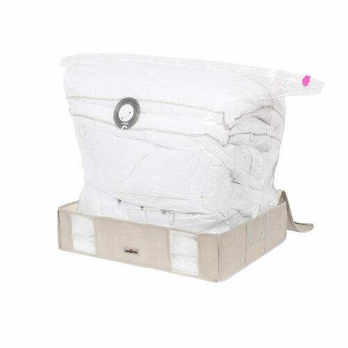 Compactor Compactor Life 2.0. vákuový úložný box s puzdrom - L 145 litrov, 65 x 50 x 15,5 cm