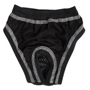 """Samohýl exclusive Hárací kalhotky bambus """"Ella"""" černé , 24 cm"""