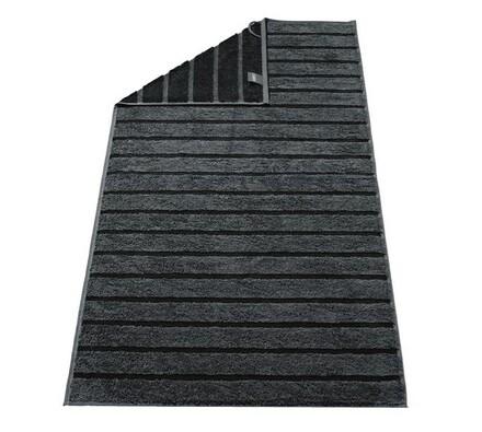 Cawö frottier osuška Tonic černá, 70 x 140 cm