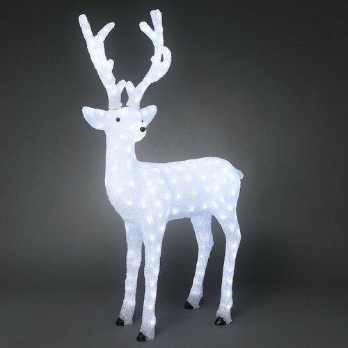 Vianočná vonkajšia dekorácia Jeleň, 184 LED
