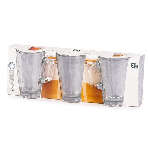 Sada pohárov s uškom 250 ml, 3 ks