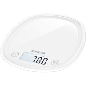Sencor SKS 30WH kuchyňská váha, bílá