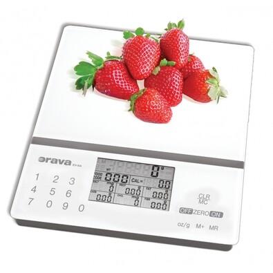 Orava EV-8 A kuchynská váha s nutričnou kalkulačkou