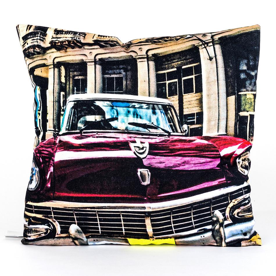 BO-MA Trading Obliečka na vankúšik Auto 45 x 45 cm