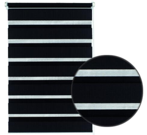 Gardinia Roleta easyfix dvojitá černá, 100 x 150 cm