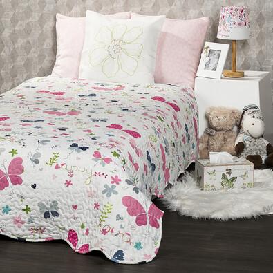 4Home Dětský přehoz na postel Butterfly, 140 x 200 cm