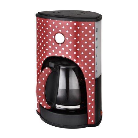 Kalorik CM 1045RWD kávovar 1,8 l Dots, červená
