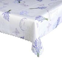 Obrus plamoodporny Levandule niebieski, 120 x 140 cm