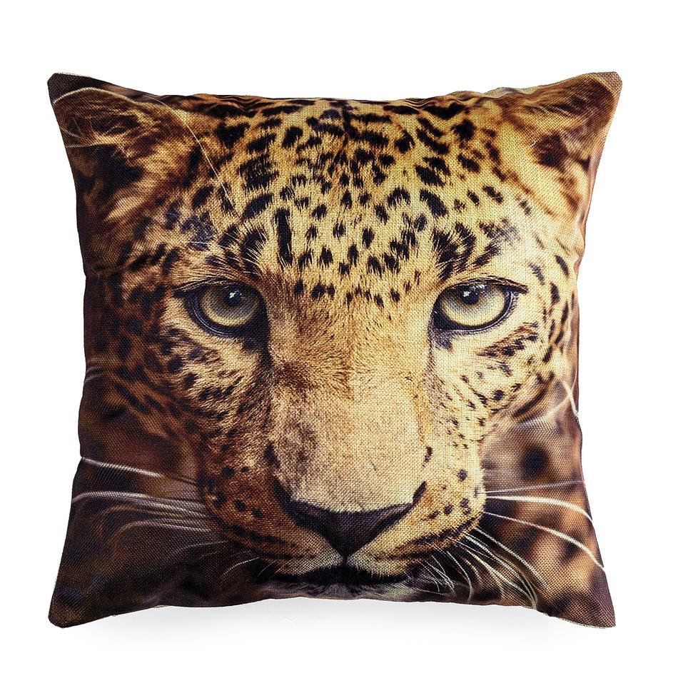 Jahu Obliečka na vankúšik Leopard, 45 x 45 cm