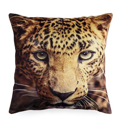 Povlak na polštářek Leopard, 45 x 45 cm