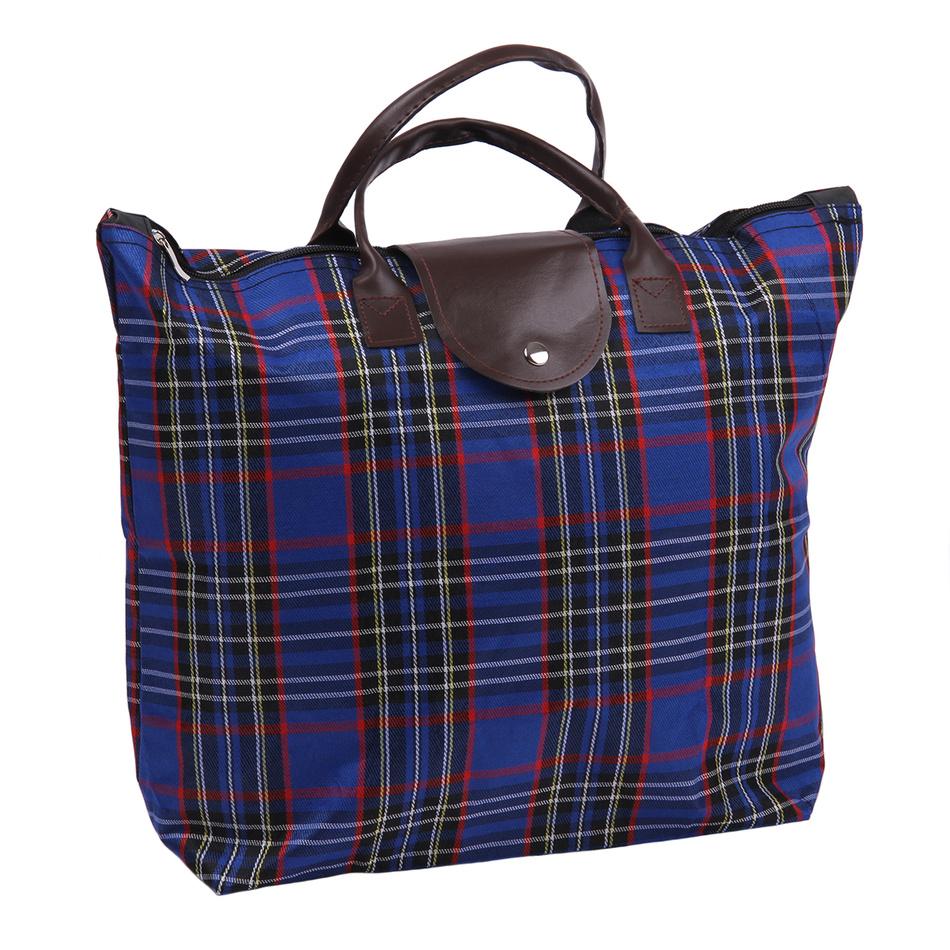 Skládací taška Kostka, modrá