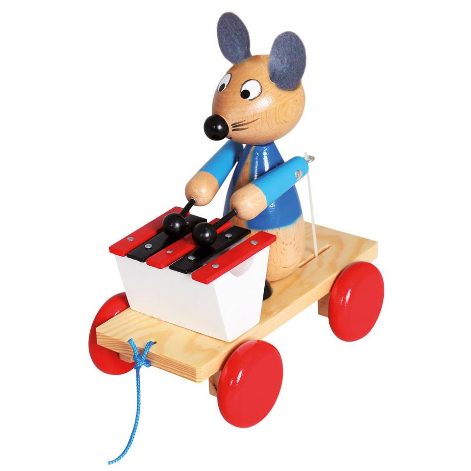Bino Ťahacia myš s xylofónom