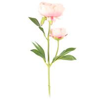 Sztuczny kwiat Piwonia jasnoróżowa, 58 cm