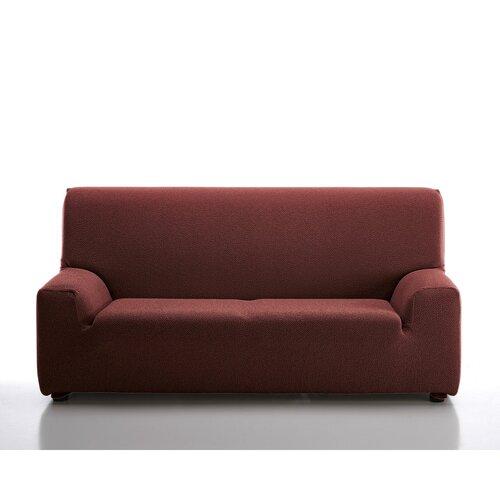 Multielastický poťah na sedaciu súpravu Petra červená, 180 - 240 cm