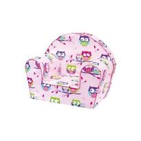 Bino Baglyok fotel, rózsaszín