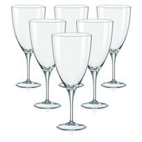 Crystalex 6 részes borospohár készlet KATE, 500 ml