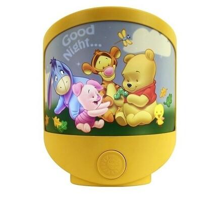 Dětská noční stolní lampa Rabalux Magic night ligh
