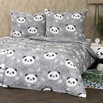 4Home Krepové povlečení Nordic Panda