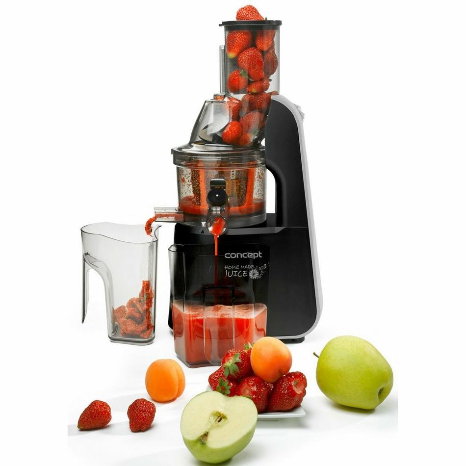 CONCEPT LO7067 Lis na ovoce a zeleninu HOME MADE JUICE černý