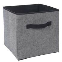 Koopman Úložný box 30 x 30 x 30 cm, černá